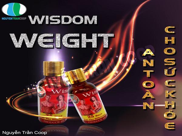 Thuốc tăng cân Wisdom Weight có an toàn