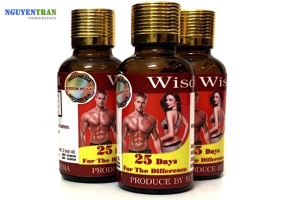 thuốc tăng cân nhanh chóng wisdom weight