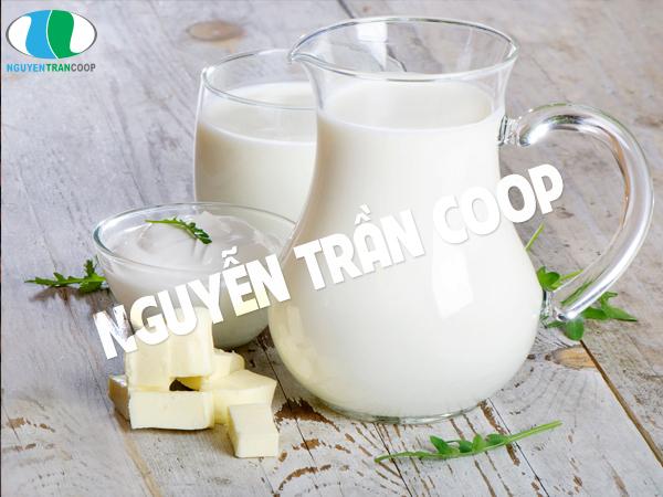 Sữa vô cùng có ích cho con bú tăng cân