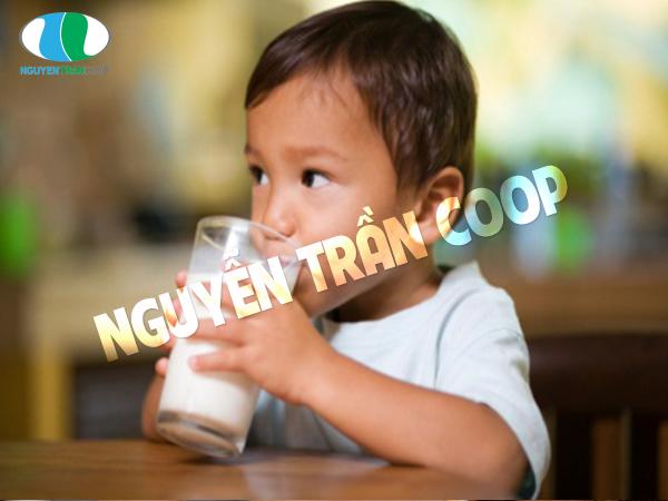 Uống sữa trước khi đi ngủ