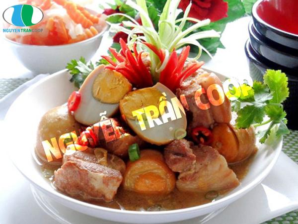 Thịt kho và thịt đông tăng cân nhanh chóng