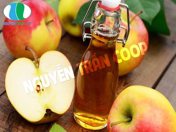 Sử dụng dấm táo