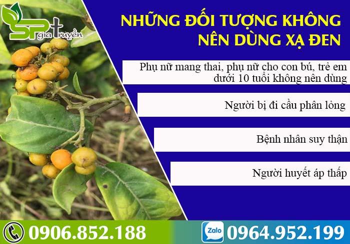 doi-tuong-khong-nen-dung-cay-xa-den