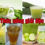 Các loại thức uống giải độc gan