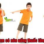 Trẻ em uống thuốc gì để tăng cân