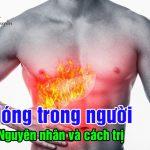Nguyên nhân và cách chữa nóng trong người