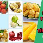 Những trái cây có tính nóng